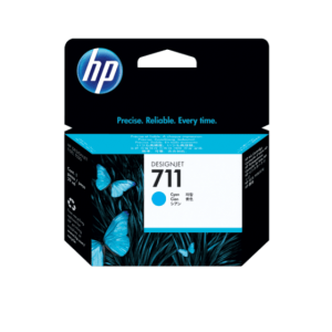HP 711 CYAN CARTRIDGE | CZ130A | 711 29-ML Cyan Ink