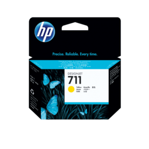 HP 711 YELLOW CARTRIDGE | CZ132A | 711 29-ML yellow ink