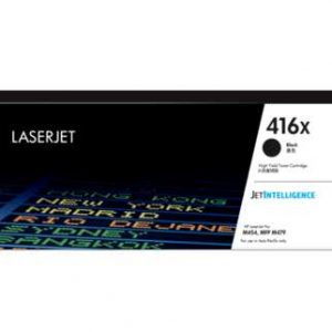 HP 416X High Yield Black LaserJet Toner Cartridge