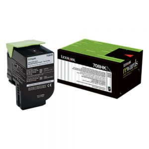 Lexmark 708HKE Cartridge | 708HKE Black High Yield Toner Cartridge