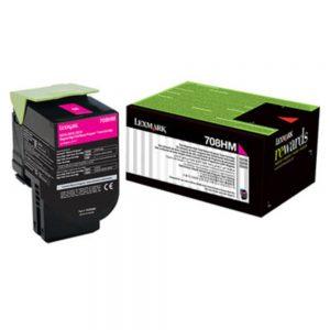 Lexmark 708HME Cartridge | 708HME Black High Yield Toner Cartridge
