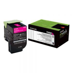Lexmark 708 Magenta Cartridge | 708M Low Yield Toner Cartridge