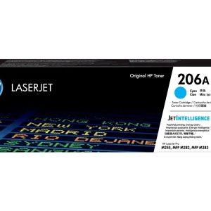 HP 206A Low Yield Cyan LaserJet Toner Cartridge