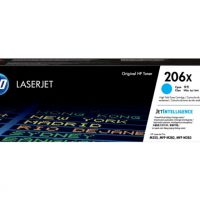 HP 206X High Yield Cyan LaserJet Toner Cartridge
