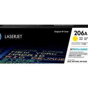 HP 206A Yellow Toner LaserJet | 206A Yellow Low Yield