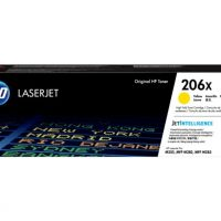 HP 206X High Yield Yellow LaserJet Toner Cartridge