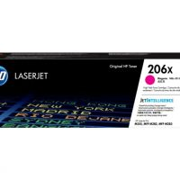 HP 206X High Yield Magenta LaserJet Toner Cartridge