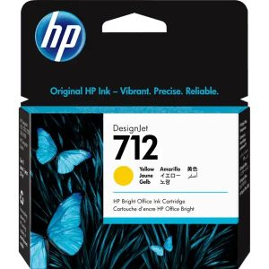3ED69A hp 712 29-ml Yellow DesignJet Ink Cartridge