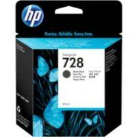 HP 728 Black Cartridge   F9J64A   728 69-ml DesignJet Black Ink