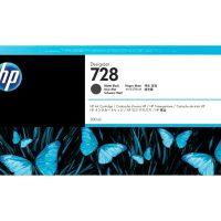 HP 728 300-ml Black Cartridge   728 High Yield Matte DesignJet Cartridge