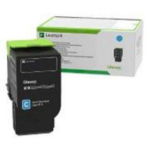 Lexmark 78C6UCE Cyan Toner Cartridge | Ultra High Yield Contract