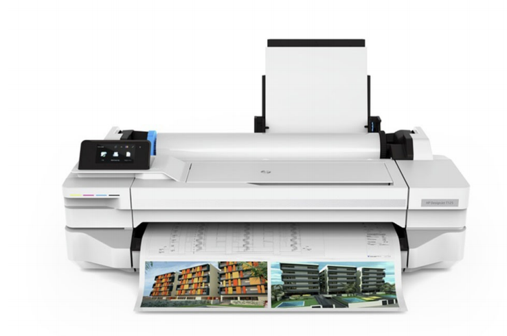 Large-format plotter printer from the best of the best -DESIGNJET T130