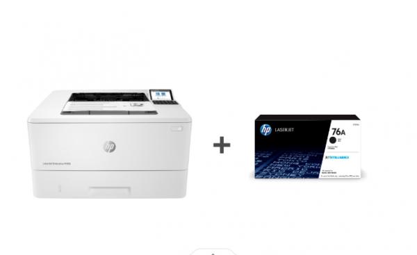 HP LaserJet Enterprise M406dn (3PZ15A) + Low Yield Toner Cartridge | Bundle offer