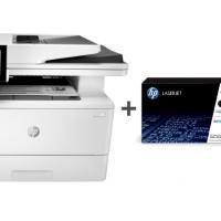 HP LaserJet Enterprise MFP M430f (3PZ55A) + Low Yield Toner Cartridges   Bundle Offer